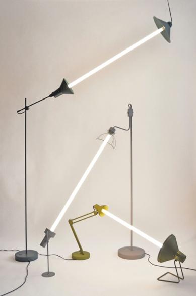 Relumine: le lampade che 'dialogano' con la luce di Mischer'Traxler