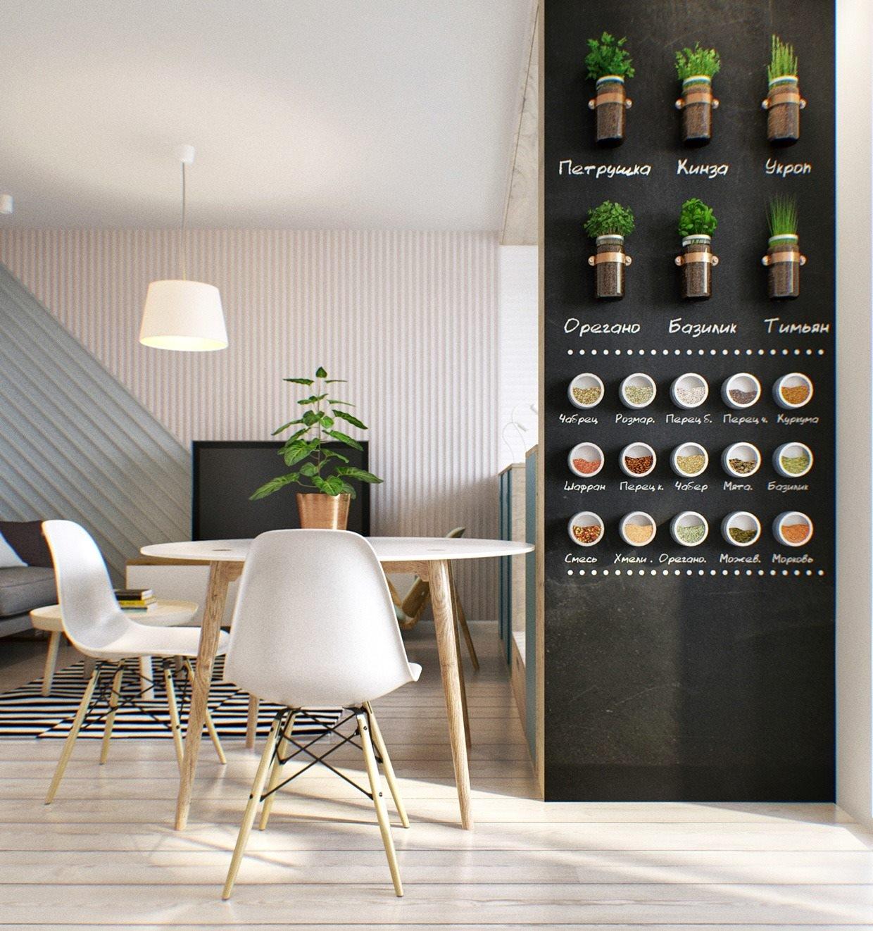 Vernice lavagna trasforma le pareti e non solo - Lavagna magnetica da cucina ...