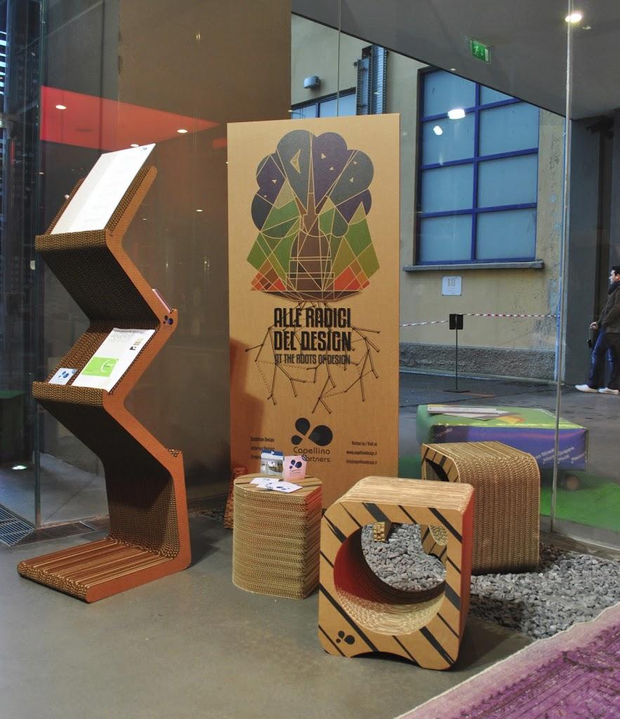Capellino design stupisce con una linea di mobili in cartone - Mobili in cartone design ...