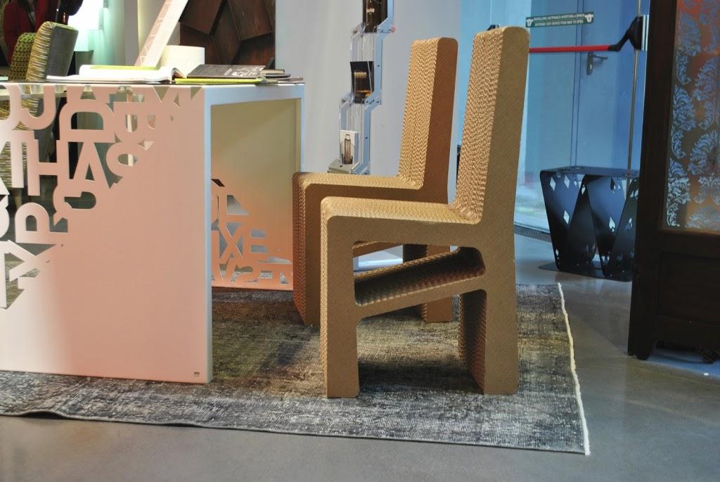 Capellino design stupisce con una linea di mobili in cartone - Mobili di cartone design ...