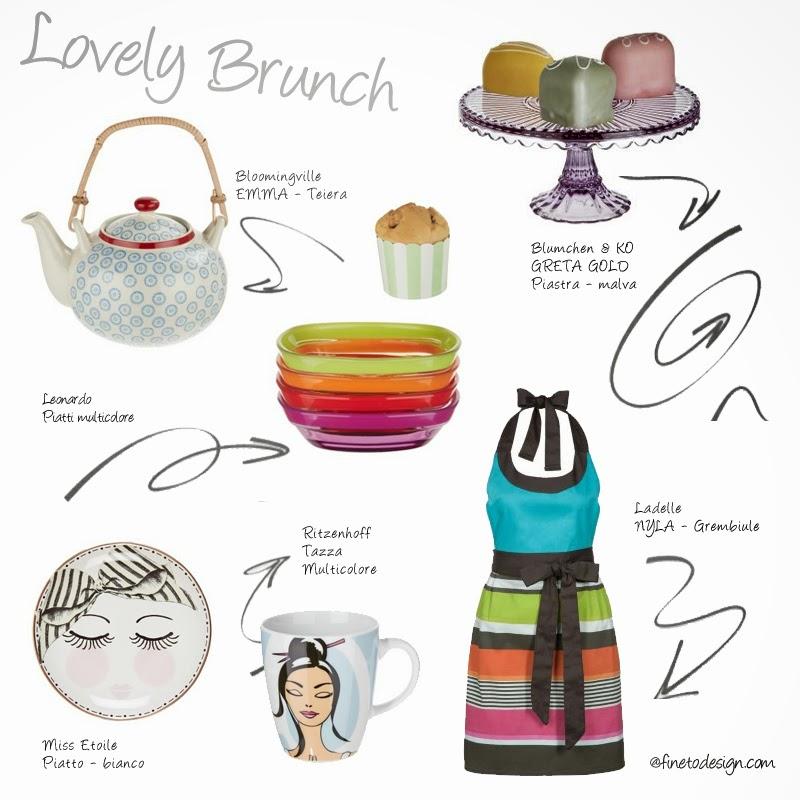 Godersi un delizioso brunch a una casa? Con gli accessori di Zalando è anche favoloso!