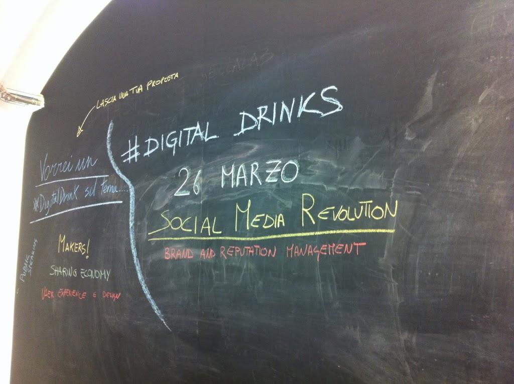 Social Media Revolution, Web 3.0 e le 5 Golden rule per avere successo sui Social! Tutto grazie ai #digitaldrinks @sellalab.
