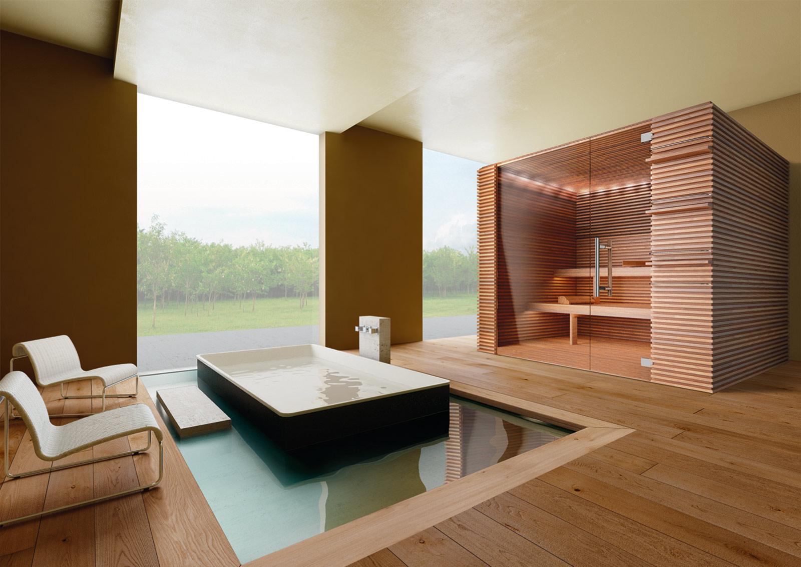 Stenal saune e spa su misura per hotel - Bagno turco su misura ...