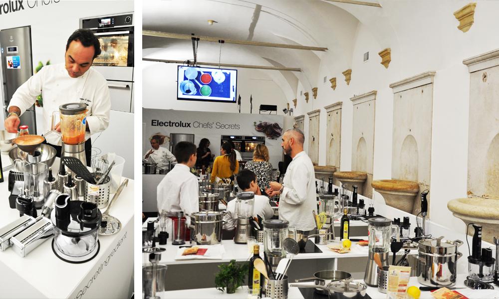 cucina Electrolux chefs secrete