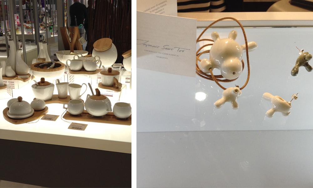 gioielli e oggetti ceramica