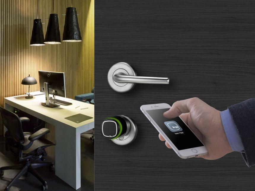 serratura tecnologica per ufficio e negozio
