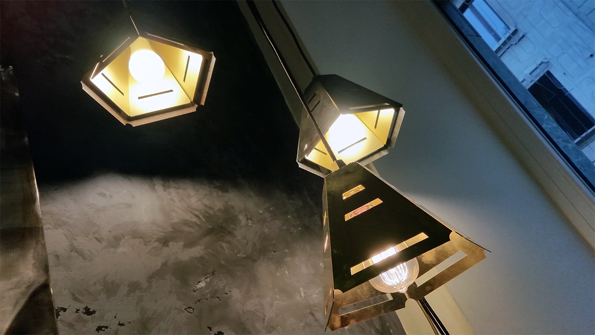 Metal Light Design by Fucina