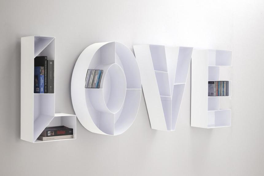 libreria-porta-cd-da-muro-love