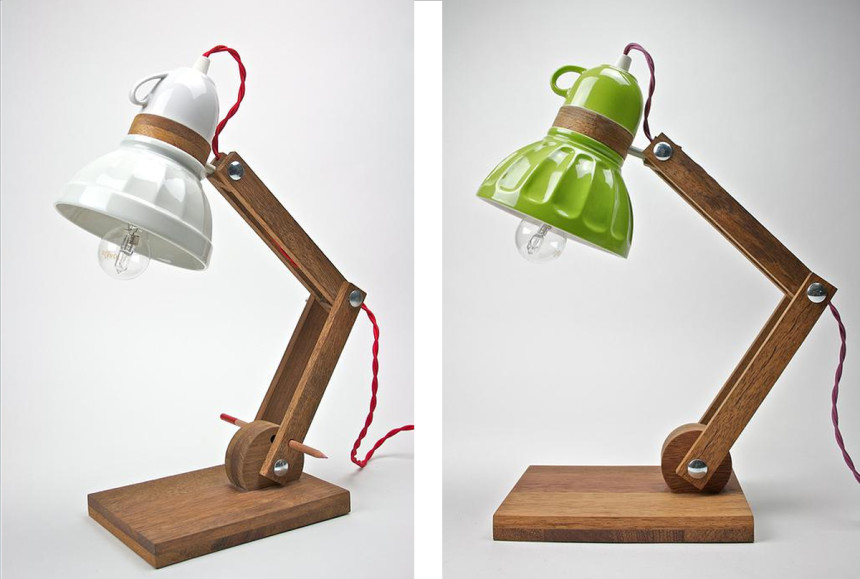 Riutilizzo, oggetti creati con oggetti: questo è Bassethound Factory