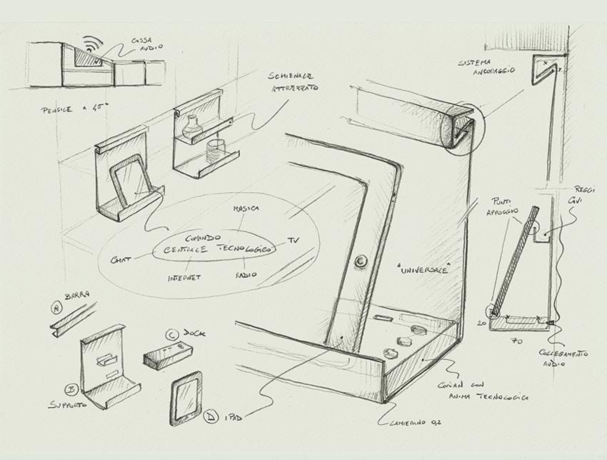Alicante Sketch matteo beraldi design lavoro architetto