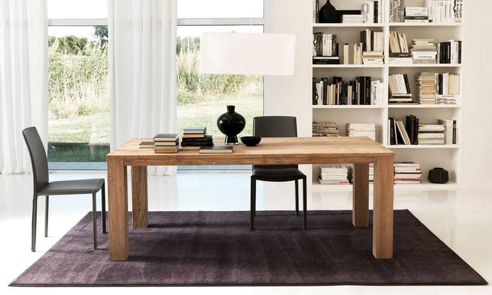 Rinnovare lo spazio living tavoli allungabili e non solo for Tavolo rotondo allungabile design