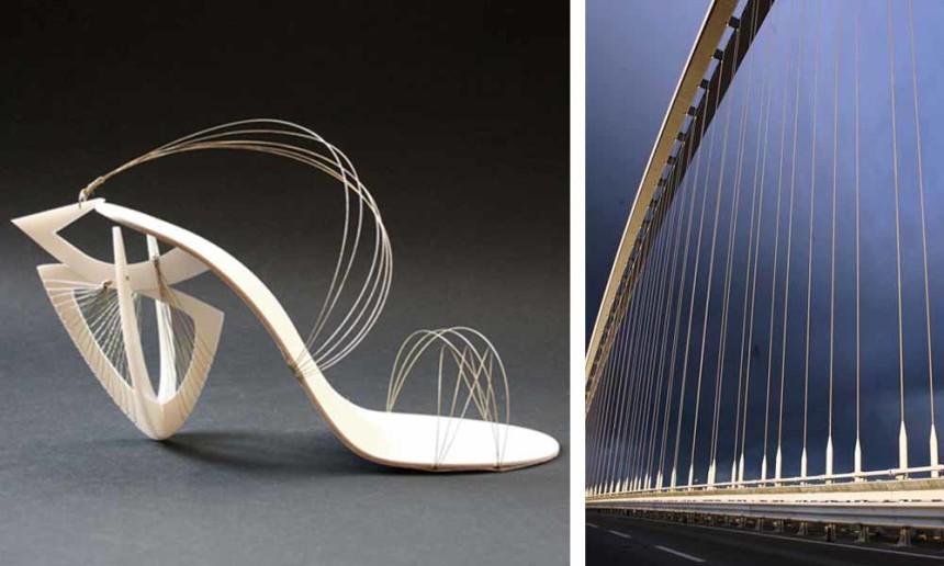 Tacco 12! La moda è architettura...Santiago Calatrava