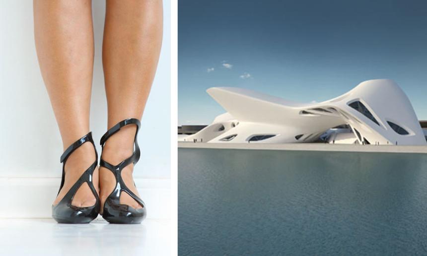 Tacco 12! La moda è architettura...Zaha Hadid