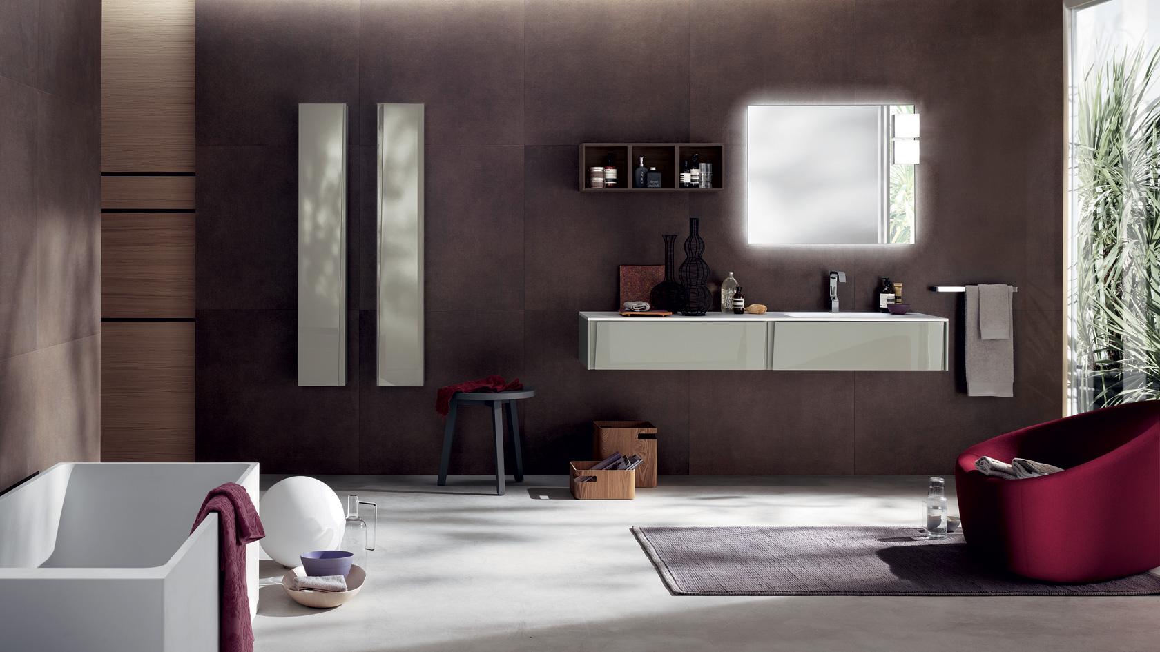 Mobili bagno moderni scegli il design e l 39 eleganza scavolini for Ultimi disegni di mobili foto