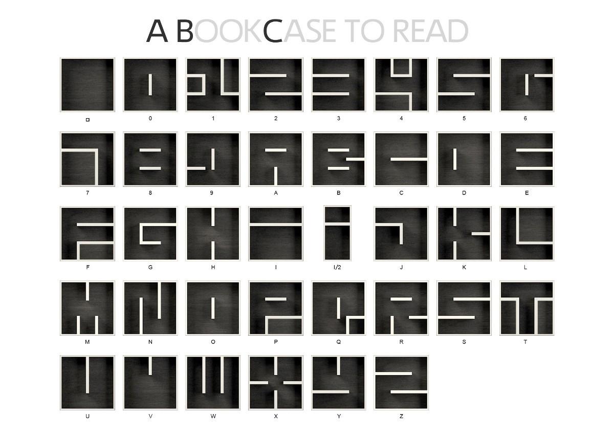 Cubi libreria le migliori librerie componibili per arredare for Lettere in metallo per arredare