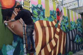 Tony Gallo e KennyRandom: la Padova street-art