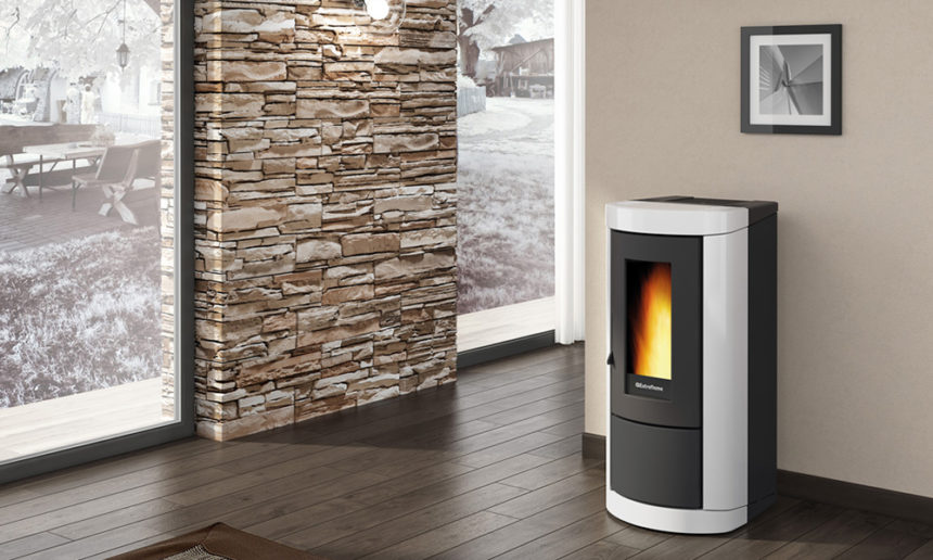 Stufe e termostufe di ultima generazione per un riscaldamento sostenibile finetodesign - Stufe a pellet per riscaldamento termosifoni ...