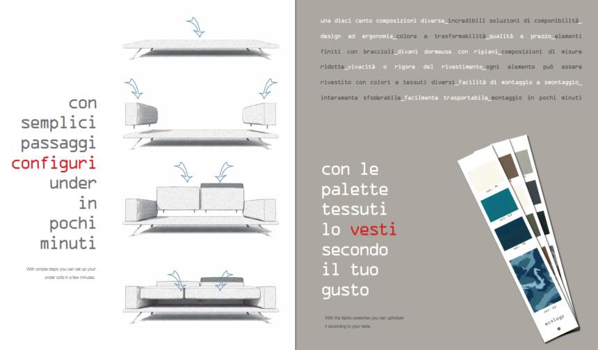 il divano di design a prezzi contenuti