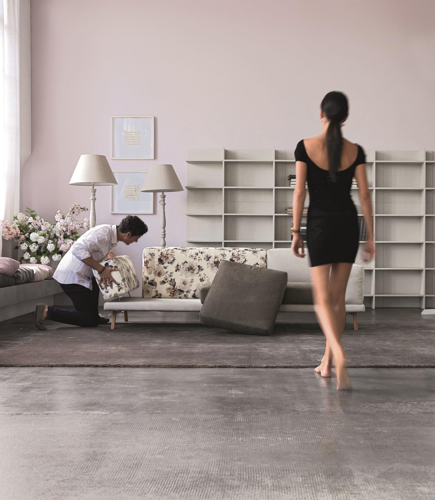 divano di design a prezzi contenuti lo produce Doimo
