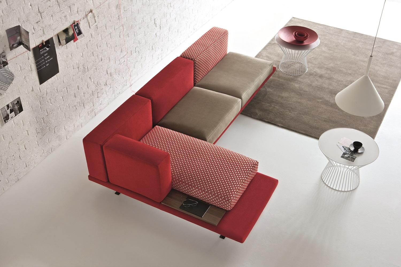 Il divano di design a prezzi contenuti lo produce Doimo