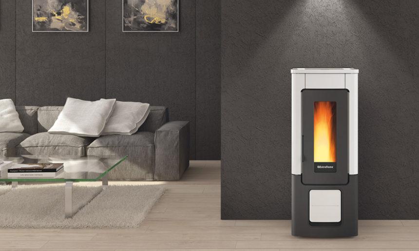 Stufe e termostufe di ultima generazione per un - Stufe a pellet per riscaldamento termosifoni ...