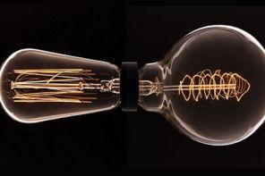Illuminazione vintage: quando basta una lampadina