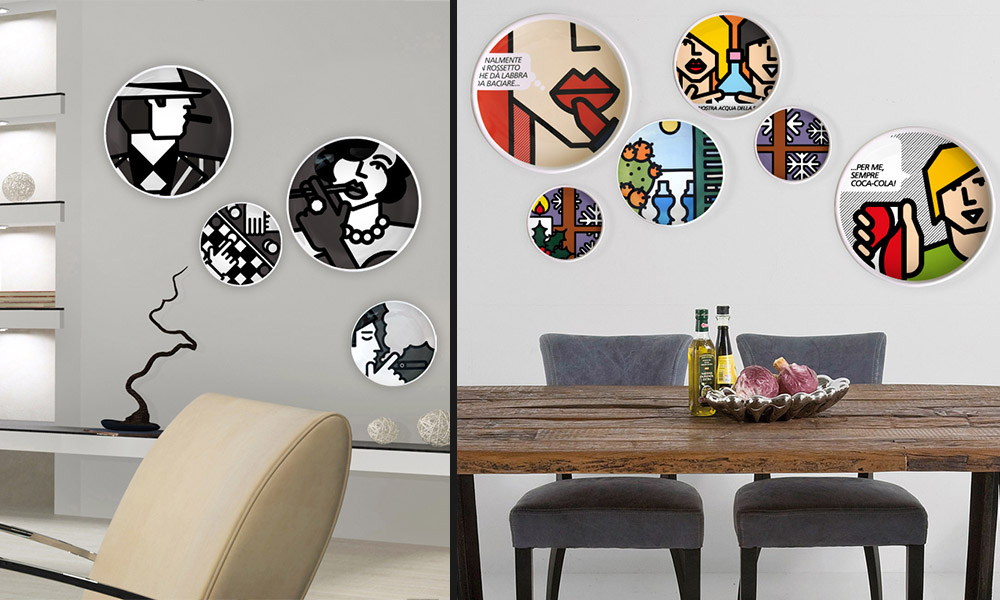 La pop art diventa design per la casa finetodesign - Oggetti design per la casa ...