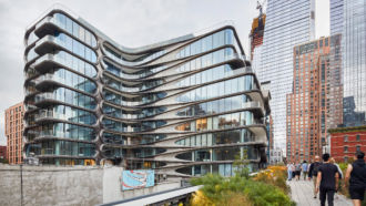 520 West 14th Street: il primo progetto di Zaha Hadid a New York