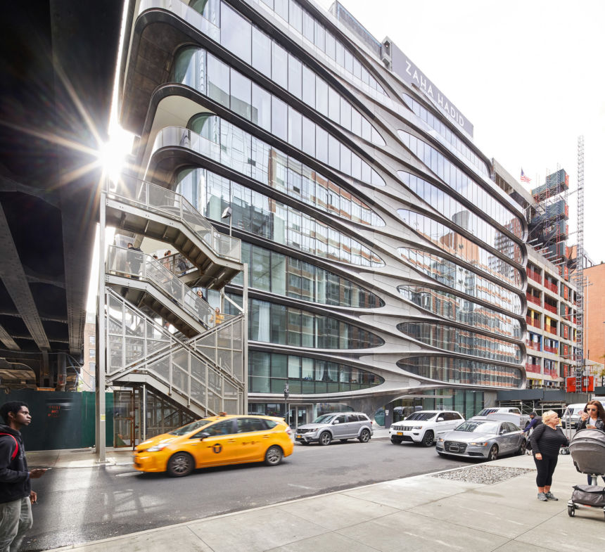 520 West 14th Street: il primo progetto di Zaha Hadid a New York
