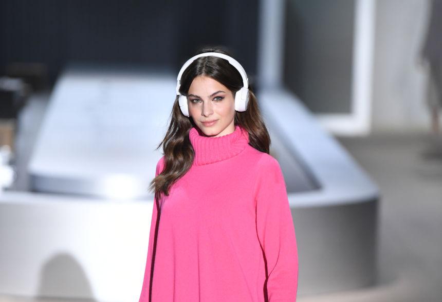 maglione rosa cashmire