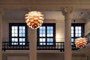 La Ville Lumière, le lampade di design diventano protagoniste