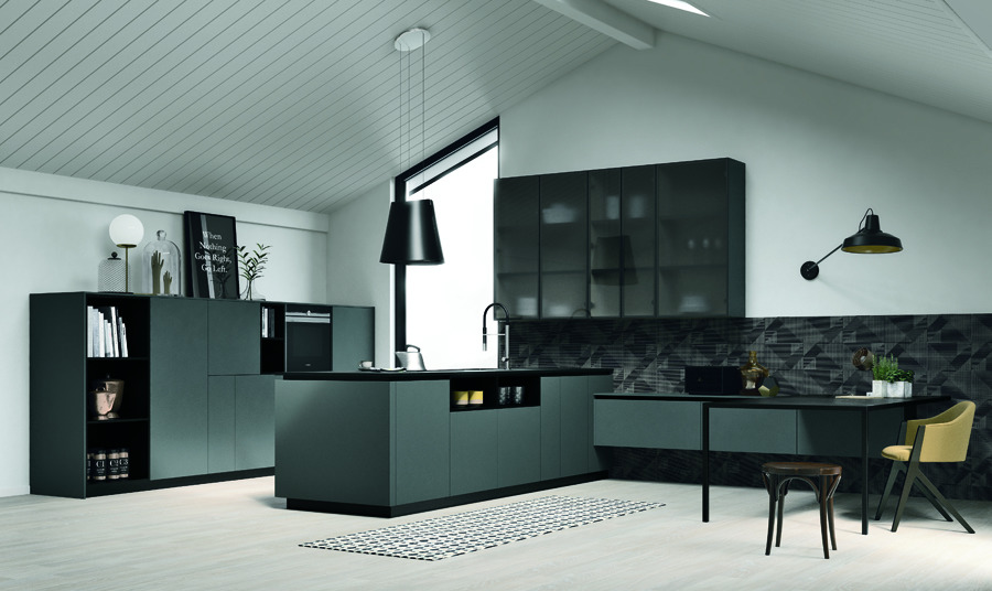 Zona giorno, scegli il living integrato - Finetodesign