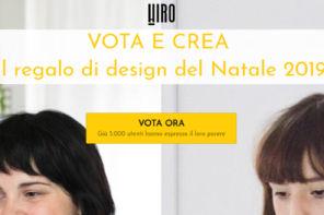 Vota il regalo di design del Natale 2019 targato Hiro