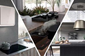 Scegliere la cappa da cucina: da incasso, a parete oppure a isola?