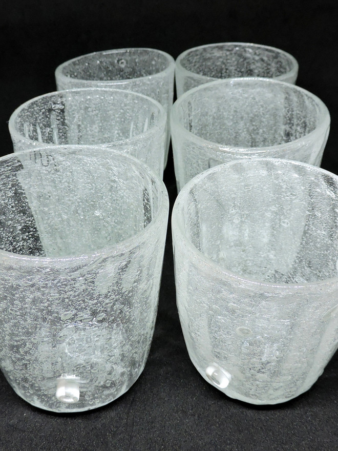Bicchieri trasparenti