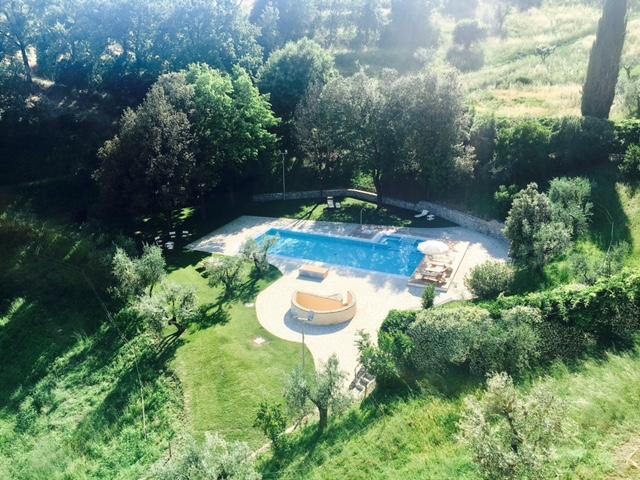 Ville con piscina in toscana? Questa è la più bella!
