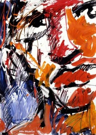 Dario Ballantini e i tappeti che prendono vita dai suoi quadri