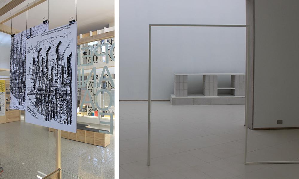 il padiglione Belga punta sul look minimal e arreda uno spazio domestico total white