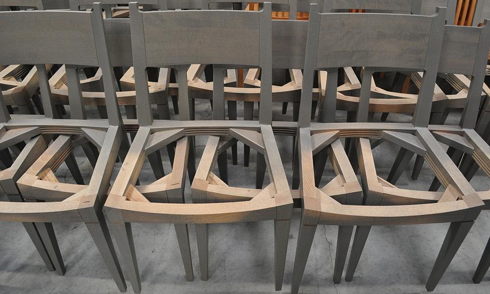 scheletro sedie Very Wood contract