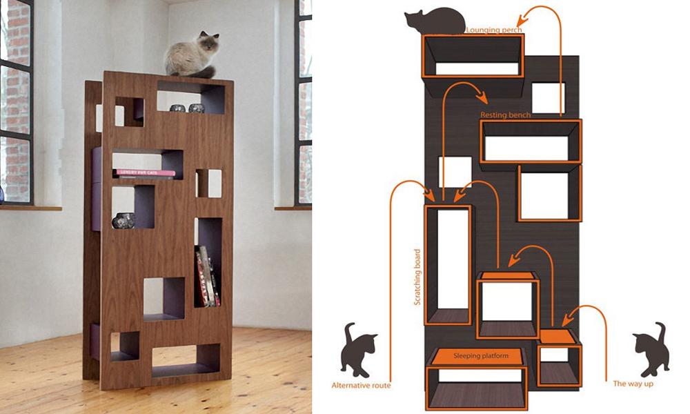 reading cat wohnblock