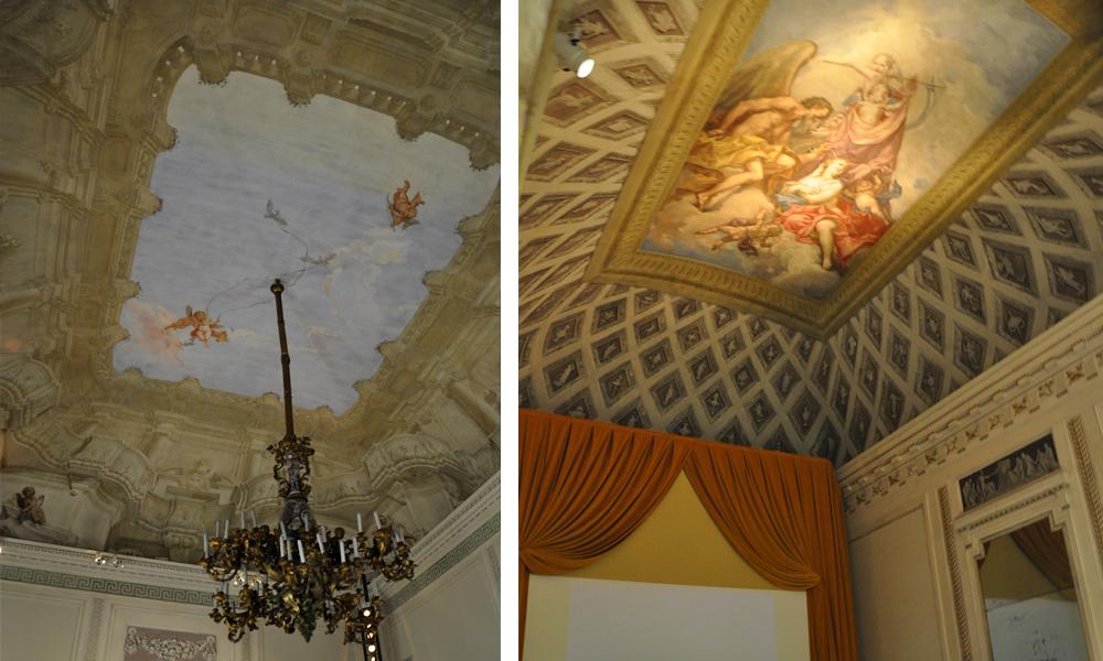 soffitti palazzo Forti