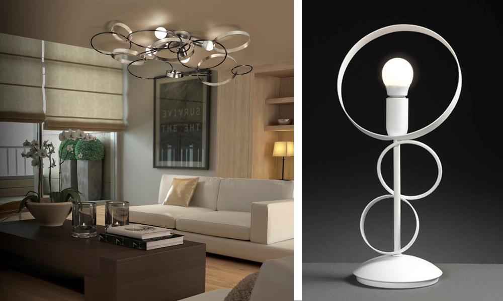 Cristalensi_lampade moderne cerchi metallo