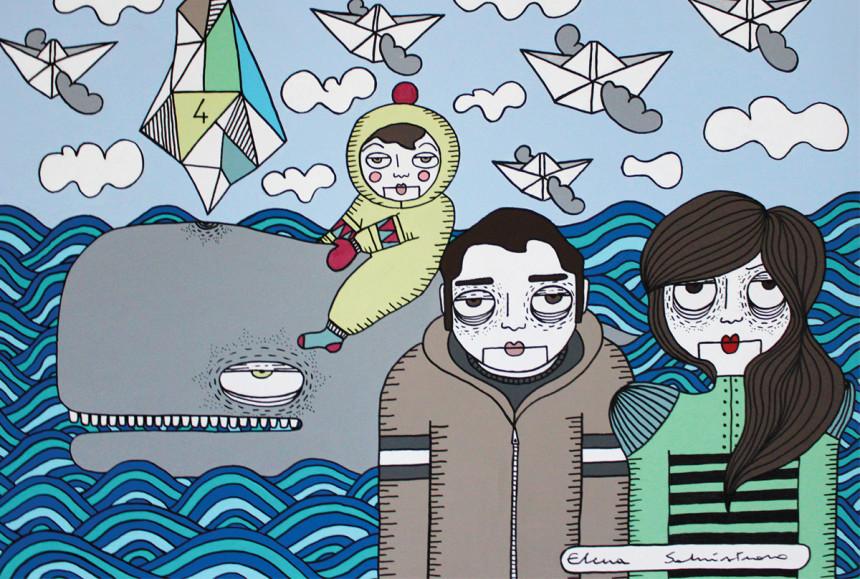 Viaggio onirico nell'oceano - Elena Salmistraro