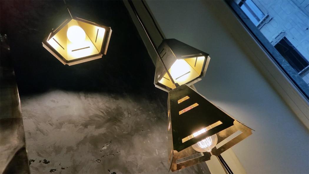 Metal Light Design by Fucina