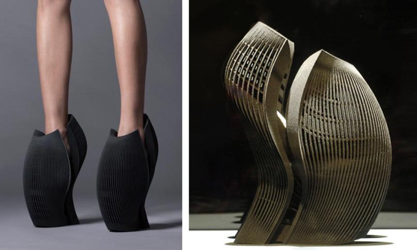 Tacco 12! La moda è architettura...Ben Van Berkel