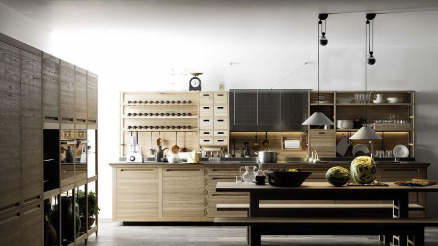 Cucine di lusso: la bellezza della semplicità Valcucine