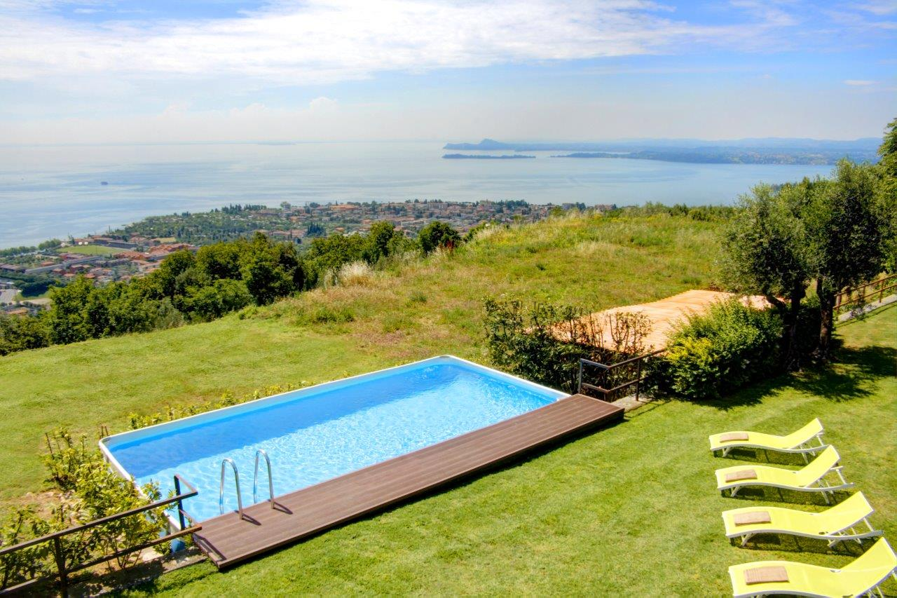 Arredi Per Piscine Esterne piscina fuoriterra: made in italy e senza permessi edilizi