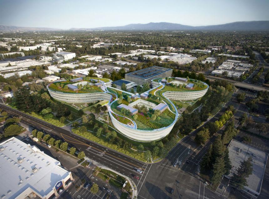 HOK progetta il più recente campus della Silicon Valley di Apple