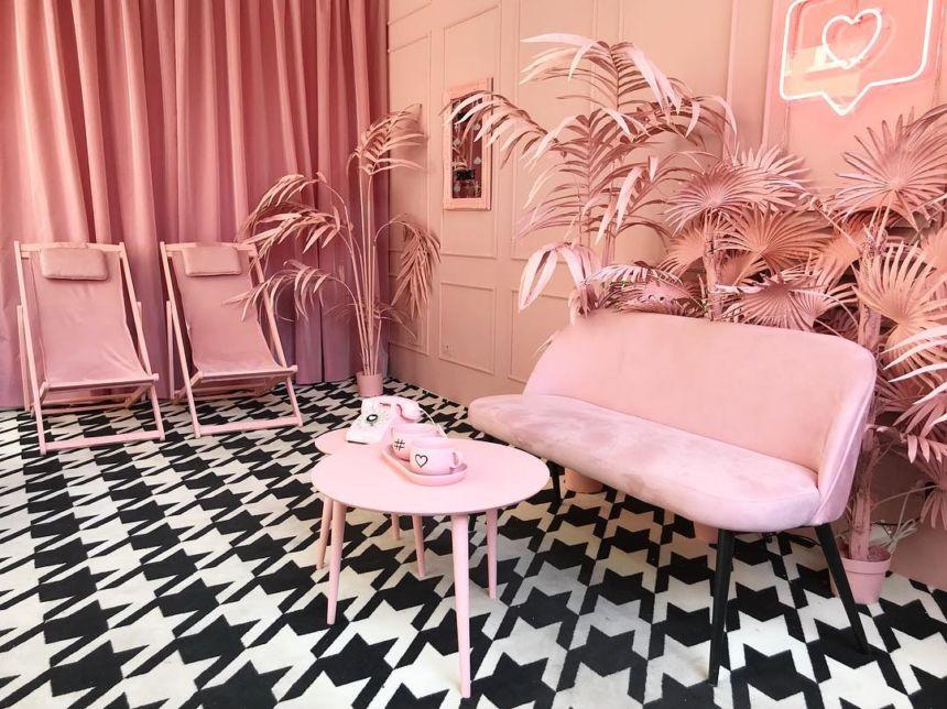 Il design ai tempi di Instagram: una stanza tutta rosa ed è subito Pink Room Mania