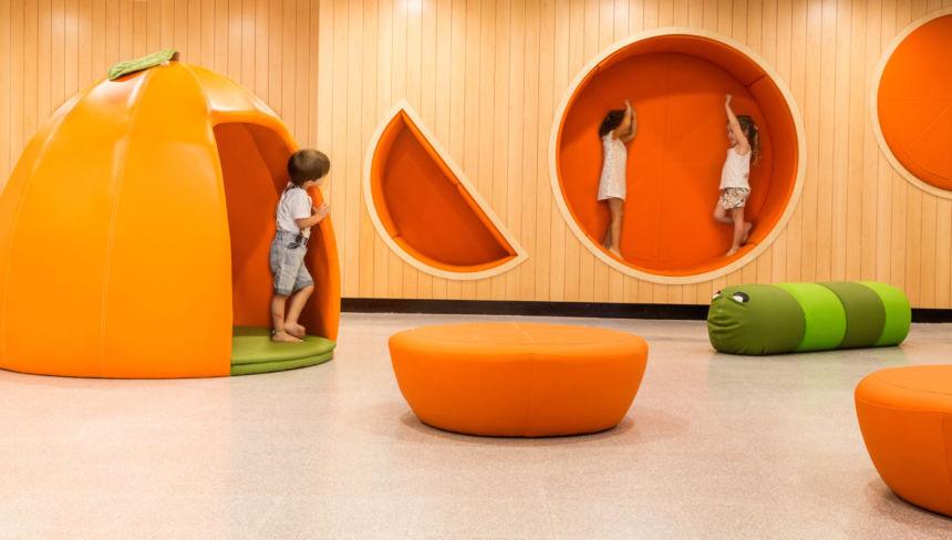 scuola divertente interior design